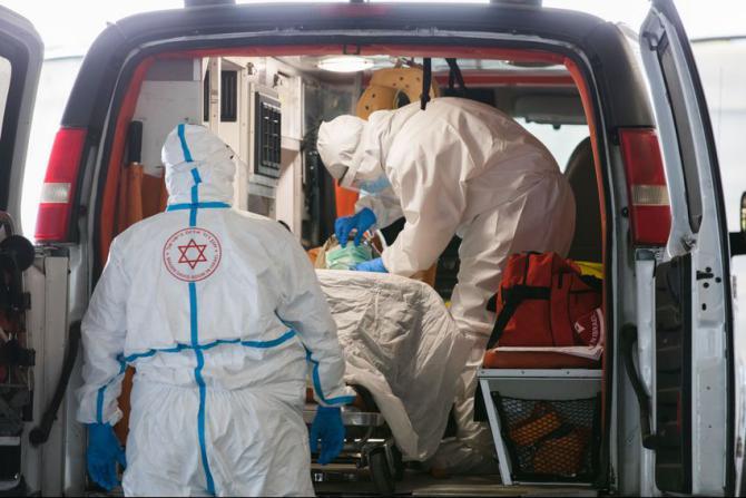 إسرائيل تسجل 4117 إصابة جديدة والوفيات 1824 حالة