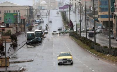 آخر تطورات المنخفض الجوي في فلسطين خلال الساعات المقبلة