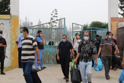 قطاع غزة يُسجل أكبر حصيلة إصابات بفايروس كورونا منذ بداية الجائحة