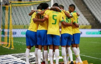 منتخب البرازيل الأولمبي يهزم كوريا بثلاثية وديا
