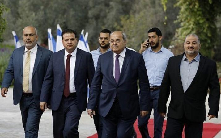 الاعلام العبري : بوادر انقسام داخل القائمة العربية المشتركة