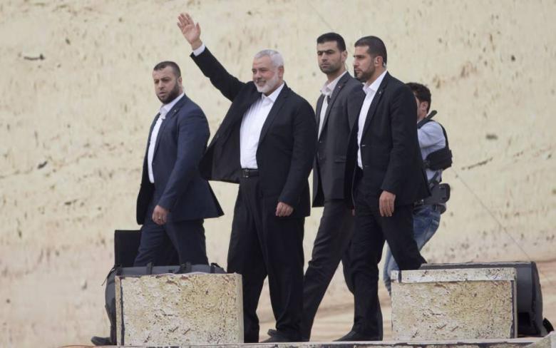 إسماعيل هنية يكشف عن استراتيجية فلسطينية لمواجهة مثلت الشر السياسي