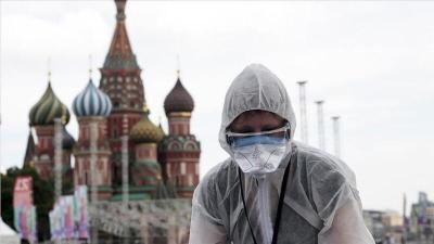 روسيا : تسجيل 238 وفاة و18257 إصابة جديدة بفيروس كورونا خلال الـ24 ساعة الماضية