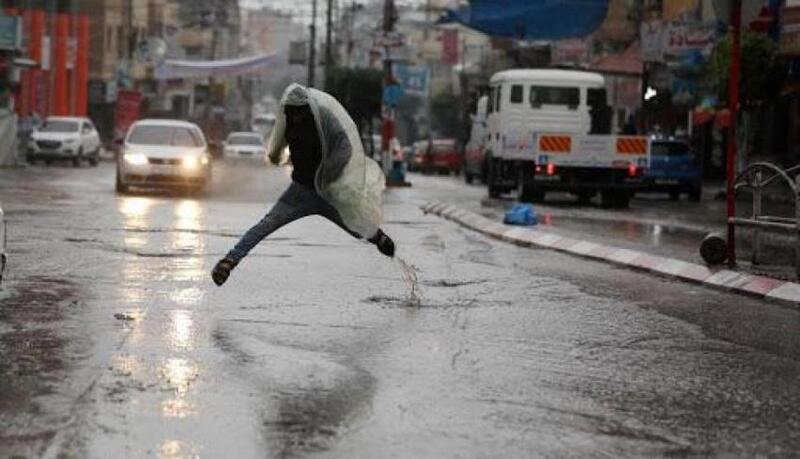 منخفض جوي جديد يضرب الأراضي الفلسطينية خلال الساعات المقبلة