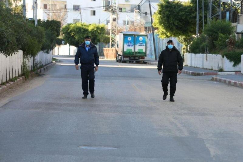 صور من الإغلاق الشامل في قطاع غزة