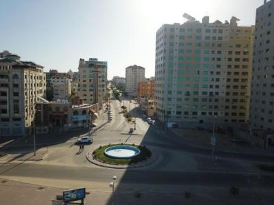 هكذا بدت شوارع قطاع غزة في ظل الإغلاق الشامل (صور اليوم)