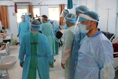 21 وفاة و1306 إصابات جديدة بـ (كورونا) و1400 حالة تعافٍ في الضفة وغزة