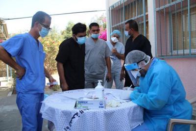 اللجان الطبية بغزة تكشف عن عدد الإصابات بـ (كورونا) خلال الـ 24 ساعة الماضية