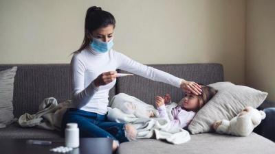 6 أعراض جديدة ترجح إصابة طفلك بـ (كورونا)