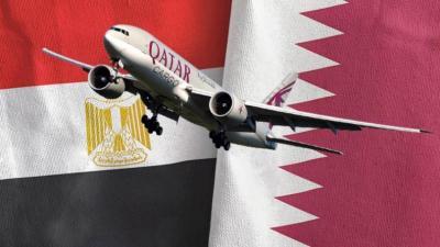 هل ستفتح مصر المجال الجوي للطائرات القطرية؟