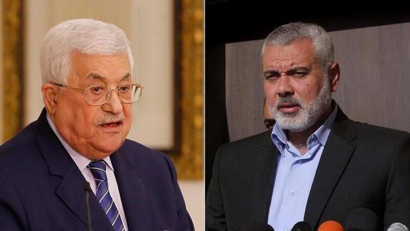 هنية تلقى رسالة خطية من الرئيس محمود عباس