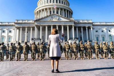 إغلاق مبنى الكونغرس الأمريكي بسبب تهديد أمني خارجي