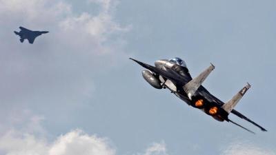 انتهاء تدريبات سلاح الجو الإسرائيلي على الحدود الشمالية