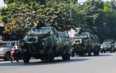 العفو الدولية: الأجهزة الأمنية في ميانمار استخدمت الذخيرة الحية ضد المتظاهرين