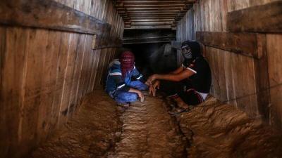 لمحاربة أنفاق المقاومة.. إسرائيل يعلن اكتمال بناء الجدار على حدود غزة