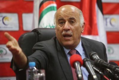 الرجوب: وثيقة سياسية بين حركتي فتح وحماس لتشكيل حكومة وحدة