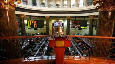 بورصة مصر تعلق التداولات بعد هبوط  بنسبة 5%