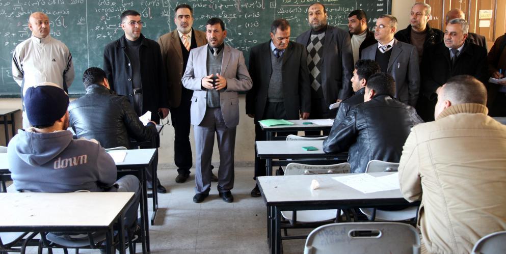 التعليم بغزة تتحدث عن امتحانات التوظيف الخاصة بالتعليم