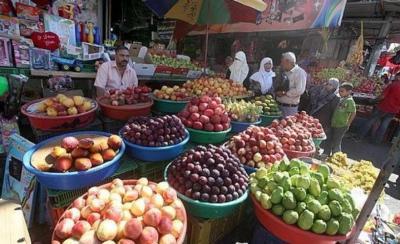 أسعار الخضروات والفواكه والدجاج في أسواق قطاع غزة اليوم