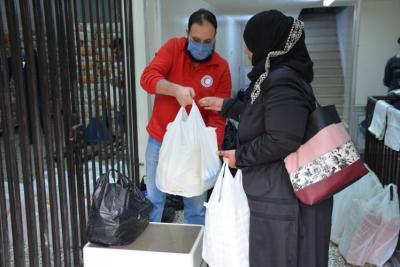 فتح التسجيل للقسيمة الغذائية بتبرع من الهلال الأحمر (مرفق الرابط)