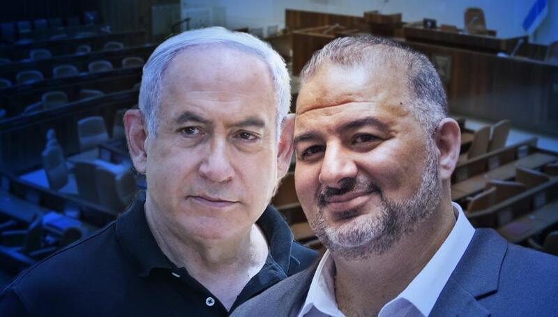 نتنياهو يبدأ اتصالاته مع منصور عباس لتشكيل ائتلاف حكومي