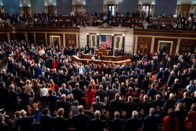 """أعضاء بالكونغرس الأمريكي يؤيدون مشروع قانون """"ماكولوم"""" الخاص بالفلسطينيين"""