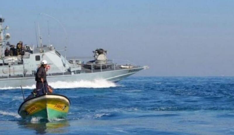 هجوم إسرائيلي بحري نحو الصيادين شمال قطاع غزة
