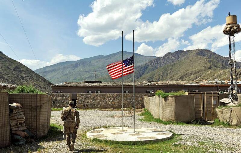 الولايات المتحدة تعتزم تأمين الانسحاب من أفغانستان
