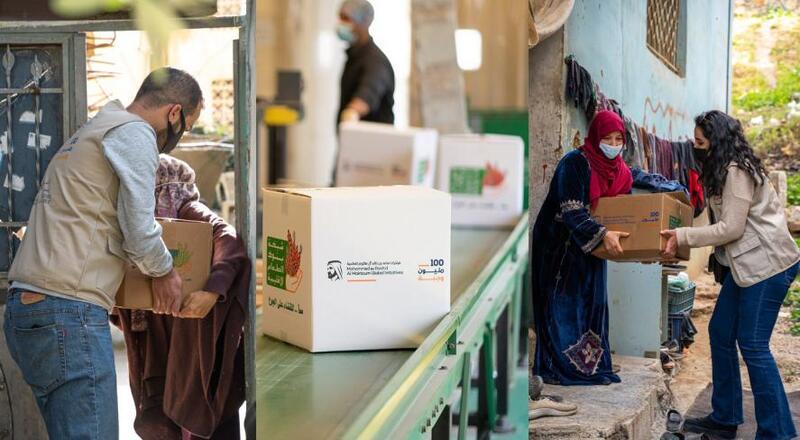 من الإمارات إلى 30 دولة.. 100 مليون وجبة الحملة الأكبر لتوزيع الطرود الغذائية
