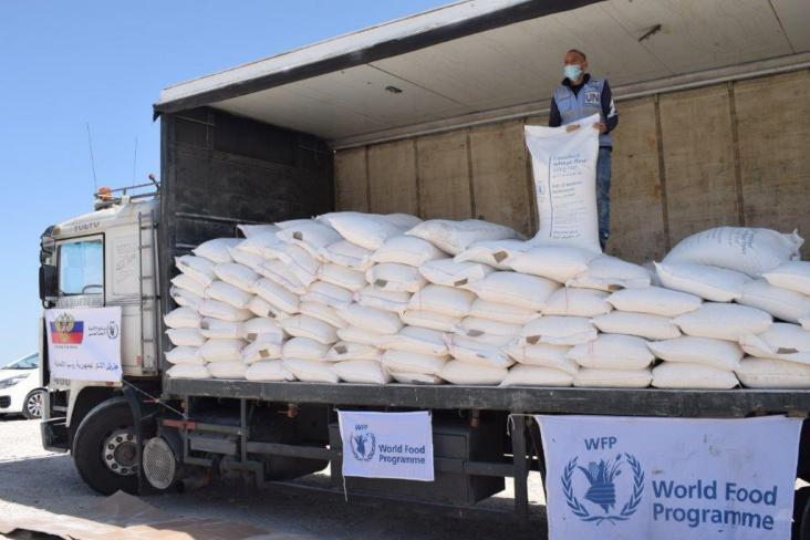 الاتحاد الروسي وبرنامج الأغذية العالمي يقدمان مساعدات غذائية للمحتاجين