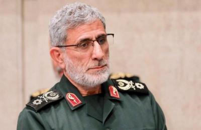 """إسماعيل قاآني يكشف مصدر 3000 صاروخ أطلقها الفلسطينيون ويقدم نصيحة لـ """"إسرائيل"""""""