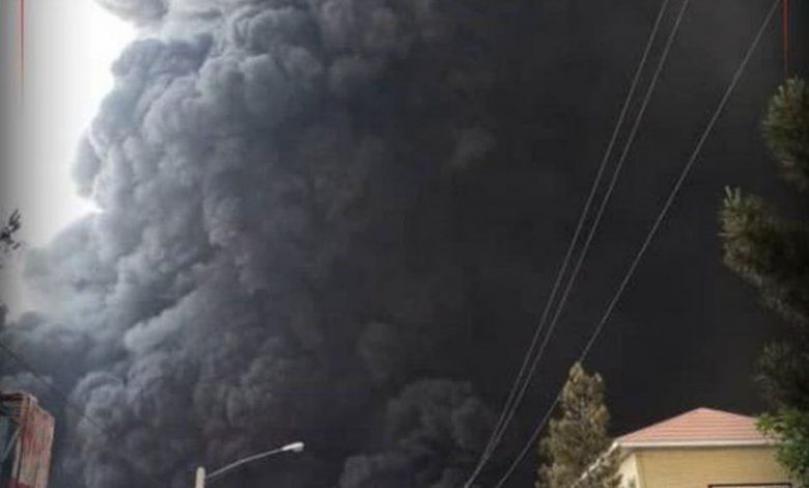 قتلى وجرحى جراء اندلاع حريق كبير جنوب طهران