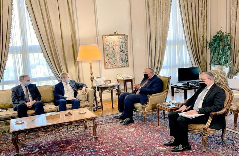الخارجية المصرية: نواصل جهودنا بهدف تثبيت وقف إطلاق النار في غزة