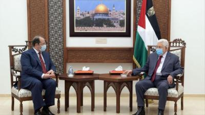 صحيفة تكشف عن اتفاق سري حصل بين أبو مازن والمخابرات المصرية بشأن إعادة بناء غزة