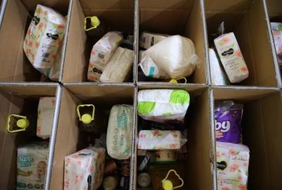 جمعية أرضي للتنمية تواصل تقديم المساعدات على المحتاجين