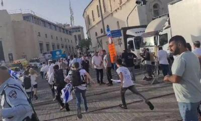 """معاريف: الشرطة الإسرائيلية توافق على تنظيم """"مسيرة الأعلام"""" بوقتها المحدد"""