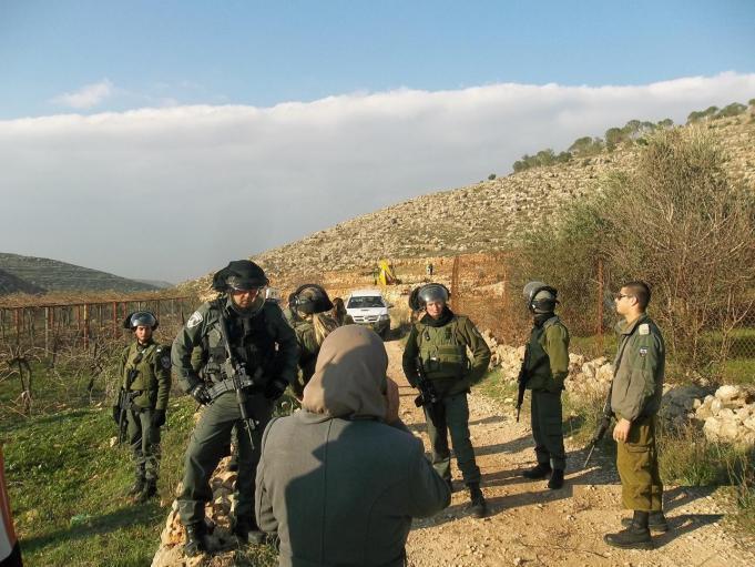 الاحتلال يشرع بمسح أراضي المواطنين في الأغوار الشمالية