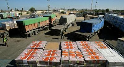 إسرائيل تمنع دخول 3 آلاف حاوية بضائع الى قطاع غزة