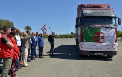الهلال الأحمر الجزائري يفتح حسابا خاصا بالتبرع للشعب الفلسطيني