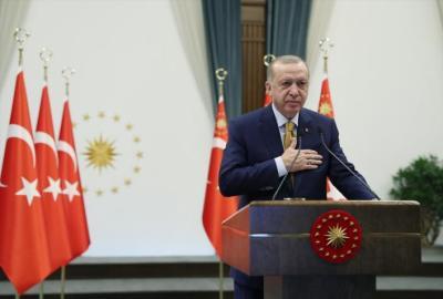 الرئيس التركي يشيد بمساهمات أنقرة والجبل الأسود لإحلال السلام