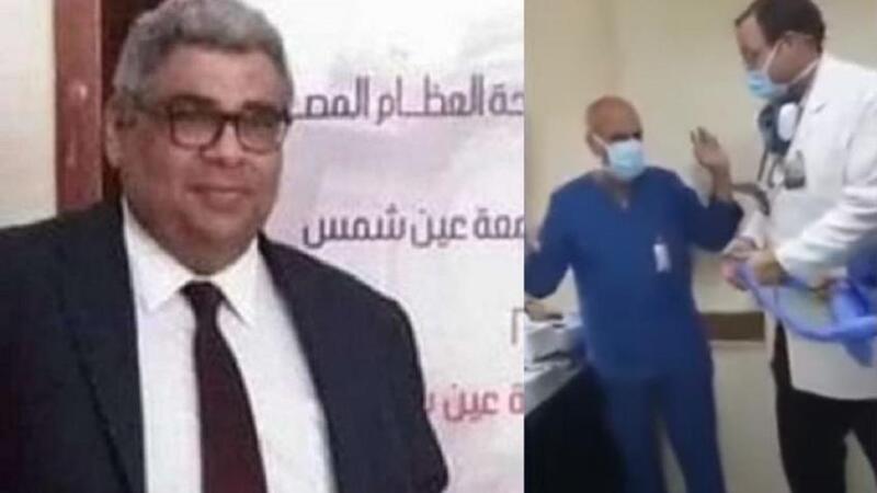 الصحة المصرية تصدر قرارا بشأن الطبيب الذي طالب ممرضا بالسجود لكلبه (فيديو)