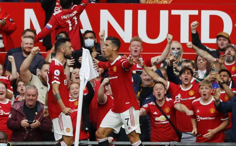 شاهد.. هدف رونالدو الثاني مع مانشستر يونايتد