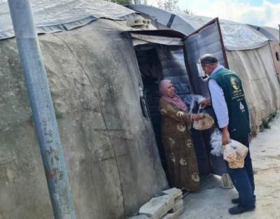 مركز الملك سلمان للإعمال الإنسانية يواصل توزيع 20 ألف رغيف خبز يوميًا في لبنان