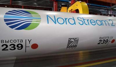 """""""غازبروم"""" الروسية تعلن اكتمال بناء خط أنابيب الغاز """"السيل الشمالي 2"""" بالكامل"""