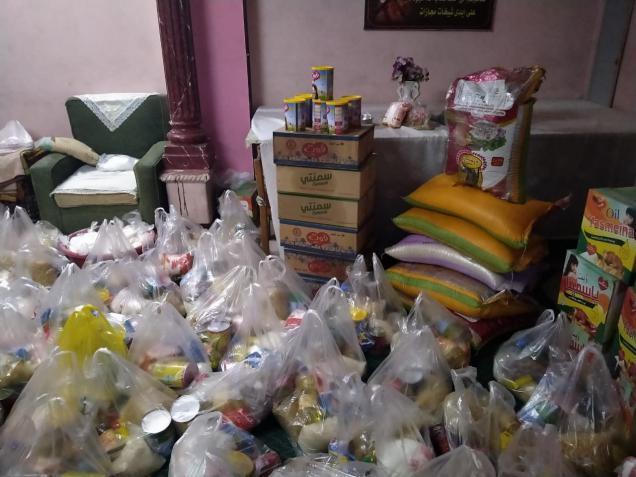 الرحمة العربية توزّع 11500 طرد غذائي على الفقراء والمحتاجين بسوريا