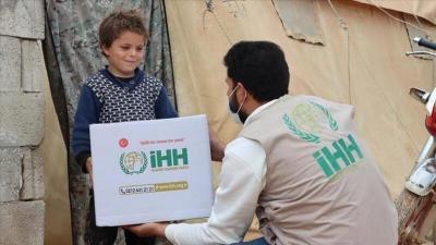 هيئة الإغاثة تقدم مساعدات لـ5 آلاف أسرة بريف إدلب