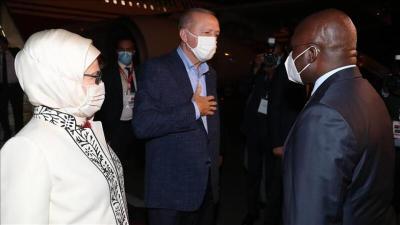 أهم ما قاله الرئيس التركي في أول محطة له في إفريقيا