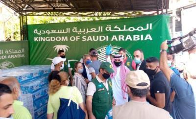مساعدات مركز الملك سلمان للإغاثة مستمرة في لبنان