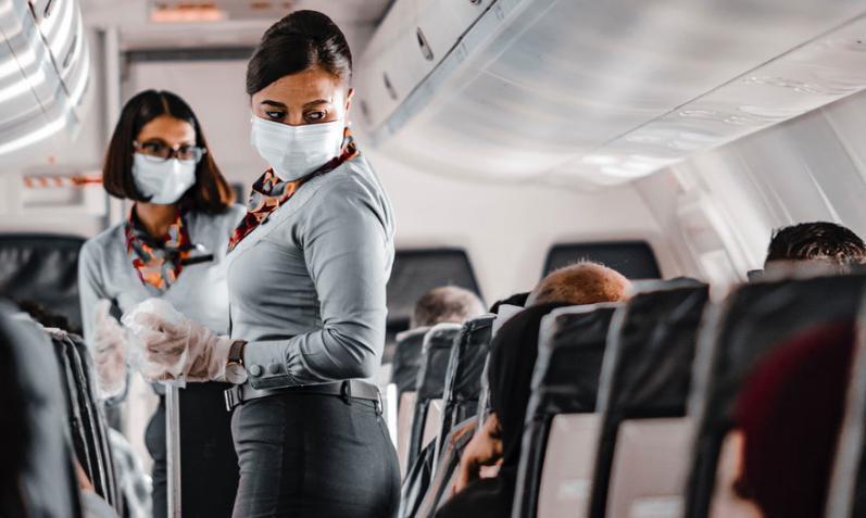 هذه أخطر نقطة لانتشار فيروس (كورونا) على الطائرة!