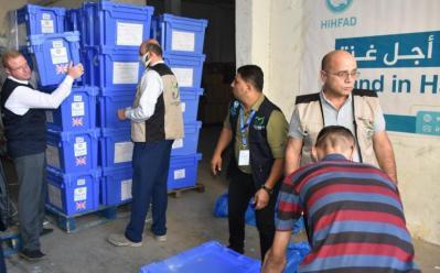 التنمية بالتعاون مع جمعية رحمة حول العالم توزع مساعدات على عدد من الأسر الفقيرة